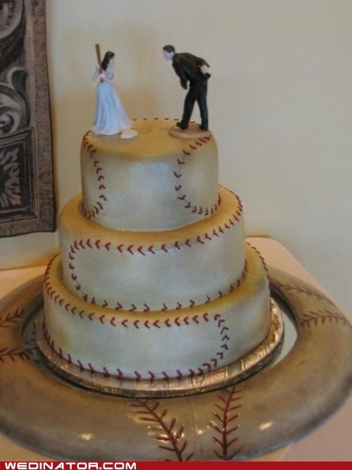 Baseball-Wedding-Cake